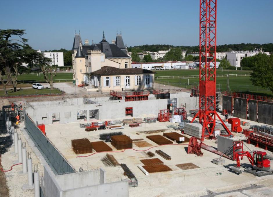 Reportage-photos suivi de chantier – Complexe sportif Pessac Bellegrave