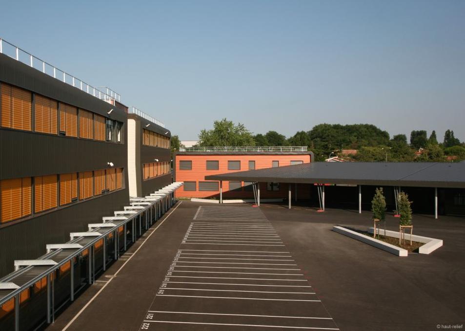 Restructuration du Collège d'Ambarès-et-Lagrave en images