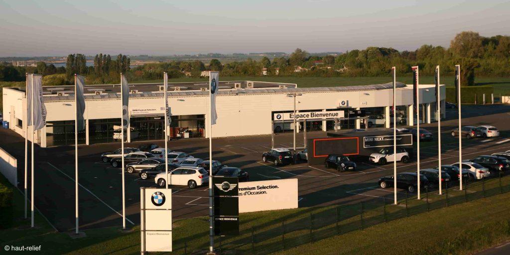 Photographie d'entreprise concession automobile BMW