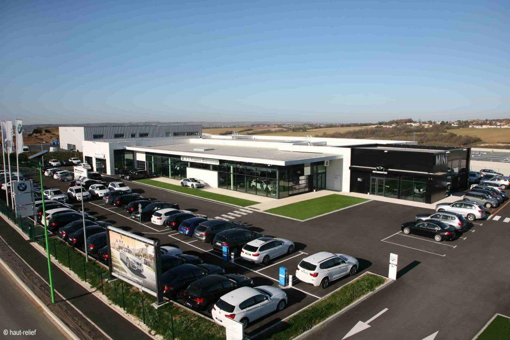 Photographie d'entreprise concession automobile BMW d'Angoulème