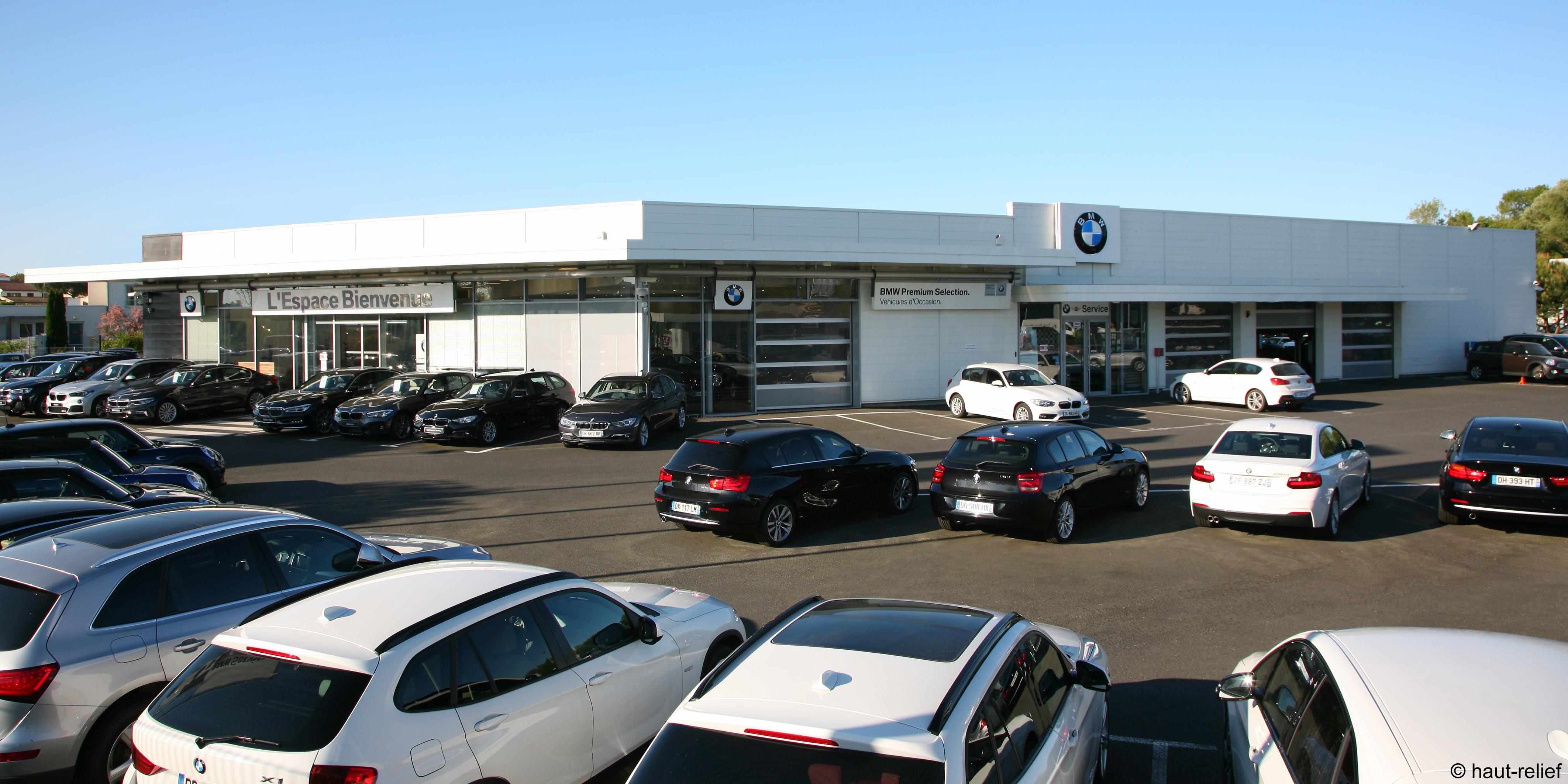 Photographie d'entreprise concession automobile BMW de Royan - Saint Georges de Didonne