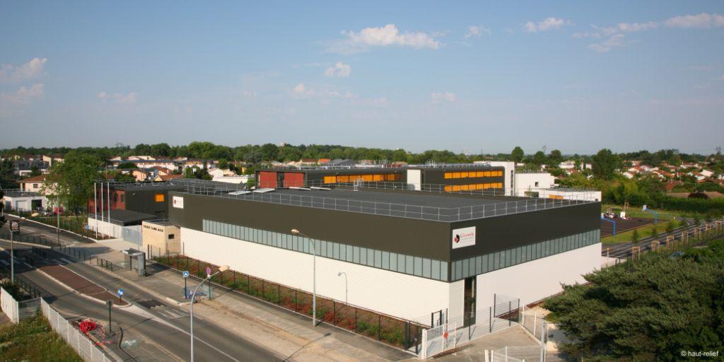 Collège Claude Massé du Département de la Gironde - restructuration et extension