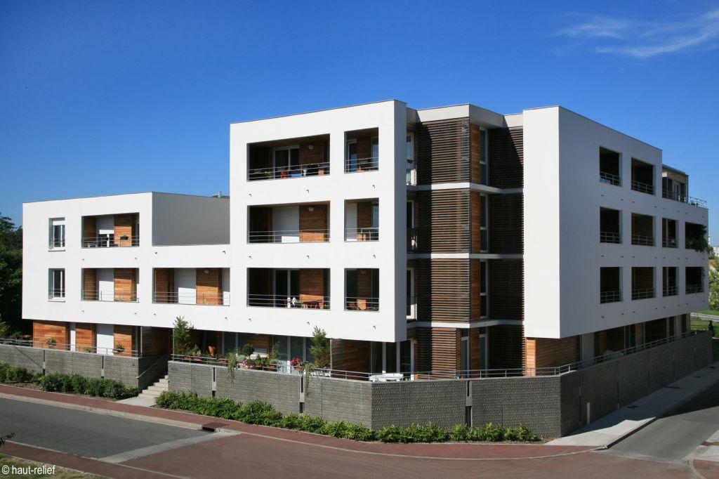 Photographie aérienne de programme immobilier