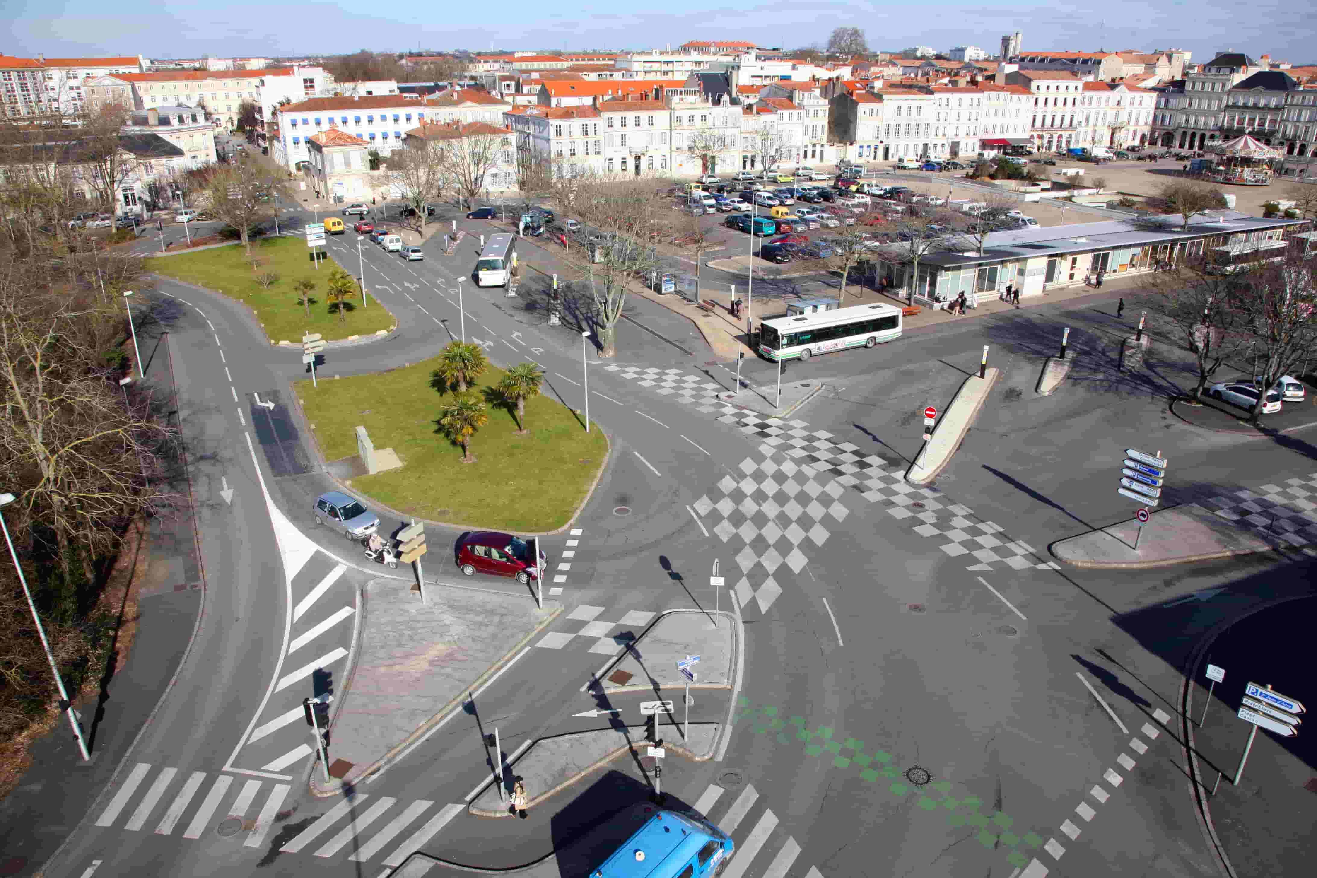 Photographie aérienne urbanisme Bordeaux