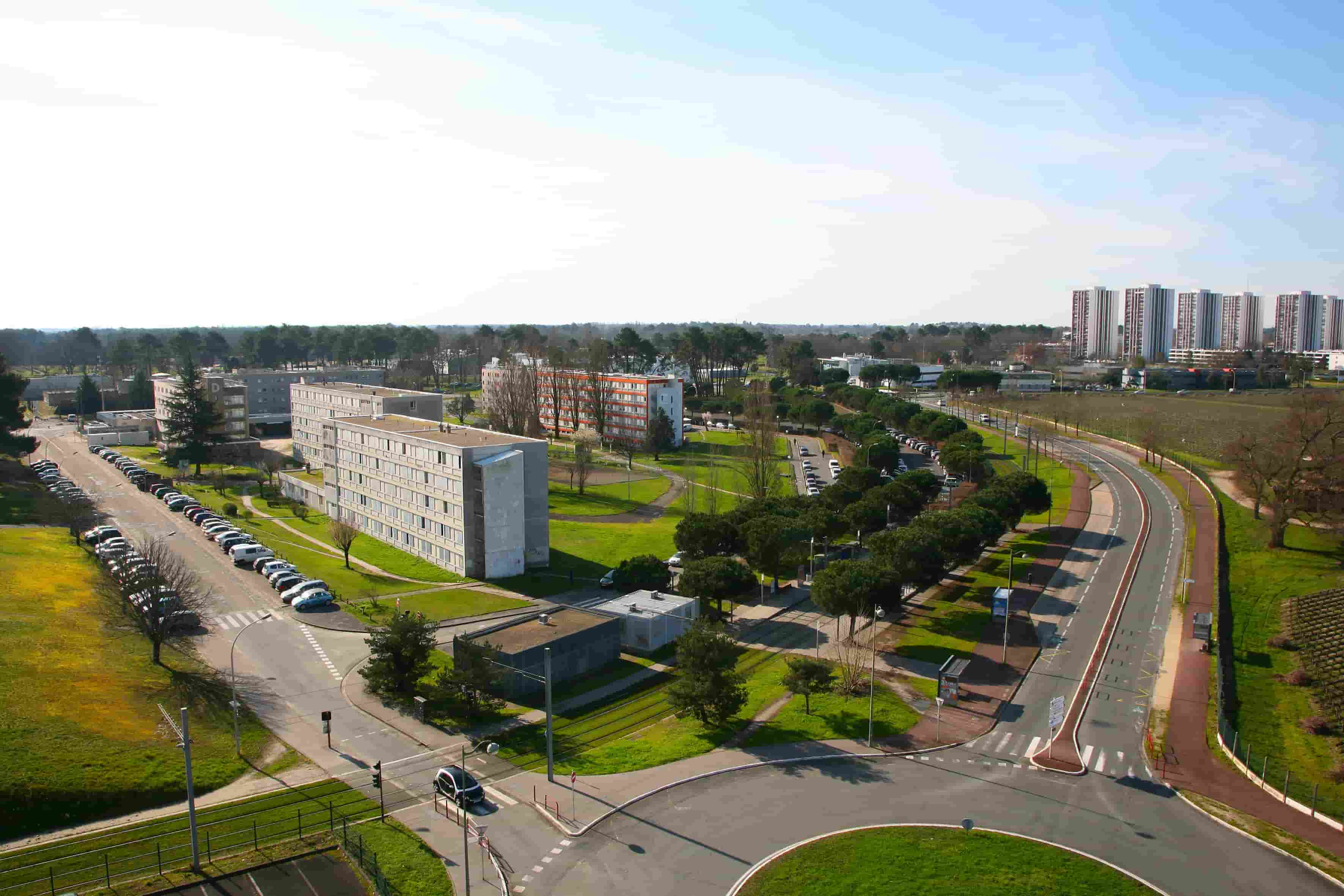 Photographie aérienne d'urbanisme en Gironde