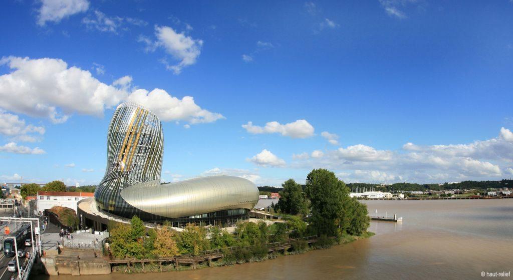 Photographie Cité du Vin de Bordeaux