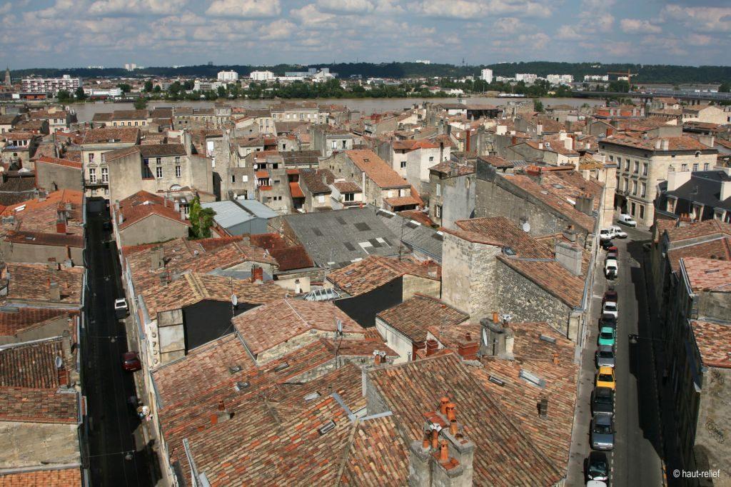 Photo aerienne projet urbain